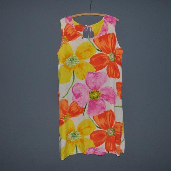 New JAMS WORLD Vintage Ponzi Floral Sundress [A7]